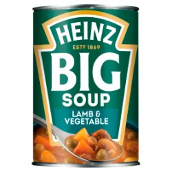 Heinz Big Soup Lamb & Vegetable 400g