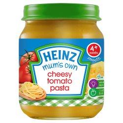 Heinz 4+ Months Smooth Mum's Own Cheesy Tomato Pasta 120g