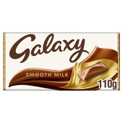 Galaxy Smooth Milk Chocolate Block 110g