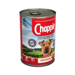 Chappie Wet Dog Food Tin Original in Loaf 412g