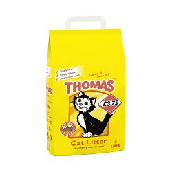 Thomas Cat Litter 5L (PMP £3.75)