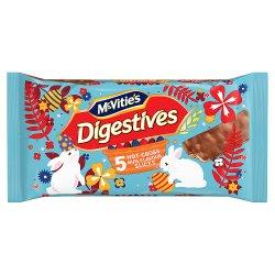 McVitie's Digestives 5 Hot Cross Bun Flavour Slices 114.1g