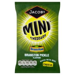 Jacob's Mini Cheddars Branston Pickle Flavour 50g