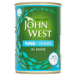 John West Tuna Chunks in Brine 400g