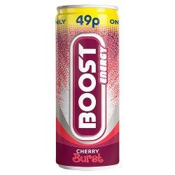 Boost Energy Cherry Burst 250ml