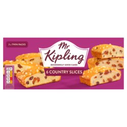 Mr Kipling 6 Country Slices