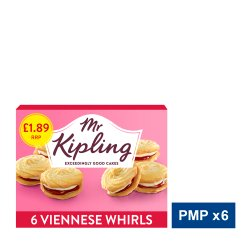 Mr Kipling 6 Viennese Whirls