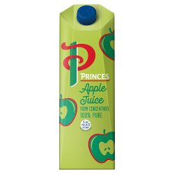 Princes 100% Pure Apple Juice from Concentrate 1 Litre
