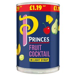 Princes Fruit Cocktail in Light Syrup 410g