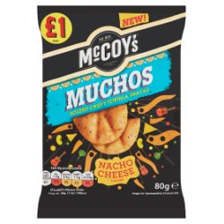 Mccoys Muchos Nacho Cheese PM £1