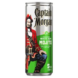 Captain Morgan White Rum Mojito 250ml
