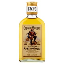 Captain Morgan Original Spiced Gold 200ml PMP £5.29