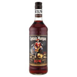 Captain Morgan Dark Rum PMP £15.49 70cl