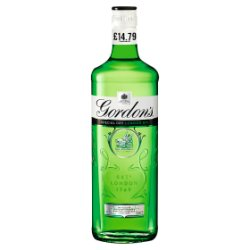 Gordon's London Dry Gin 70cl PMP £14.79
