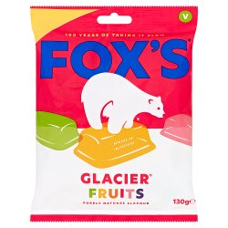 Fox's Glacier Fruits 130g