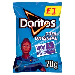 Doritos Cool Original Tortilla Chips £1 PMP 70g
