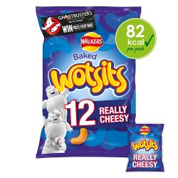 Walkers Wotsits Really Cheesy Snacks 12x16.5g