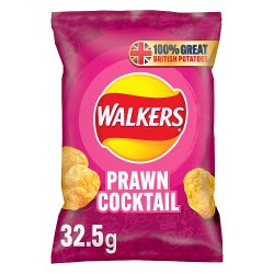 Walkers Prawn Cocktail Crisps 32.5g