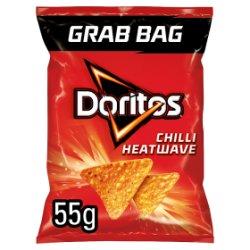 Doritos Chilli Heatwave Tortilla Chips 55g