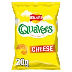Walkers Quavers Cheese Snacks 20g