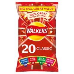 Walkers Classic Variety Crisps 20x25g