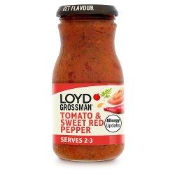 Loyd Grossman Tomato & Sweet Red Pepper Pasta Sauce 350g