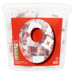 Oxo 60 Beef Stock Cubes 378g