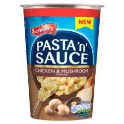 Batchelors Pasta 'n' Sauce Pot Chicken & Mushroom Flavour 65g