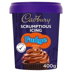 Cadbury Fudge Flavour Icing 400g