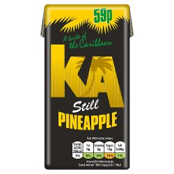 KA Still Pineapple Juice 288ml Carton, PMP 59p