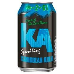 KA Karibbean Kola 330ml, PMP 59p or 2 for £1