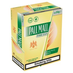 Pall Mall Fine Cut 6 x 30g