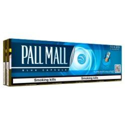 Pall Mall Blue Capsule Kingsize 10 x 20 Cigarettes