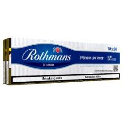 Rothmans Blue King Size 10 x 20 Cigarettes