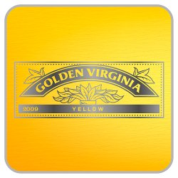 Golden Virginia Yellow Handy Pack Including Cigarette Papers and Filters 30g