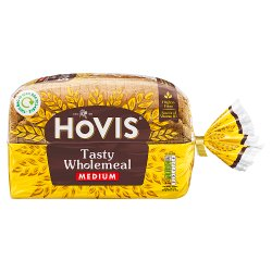 Hovis Tasty Wholemeal Medium Bag 800g