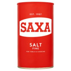 Saxa Fine Salt 750g