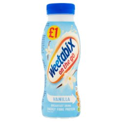 Weetabix On the Go Vanilla Breakfast Drink 250ml
