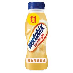 Weetabix On the Go Breakfast Drink Banana 8 x 250ml PMP £1