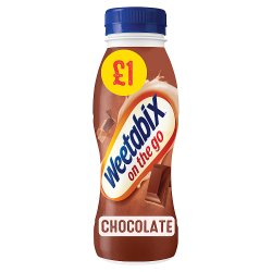 Weetabix On the Go Breakfast Drink Chocolate 8 x 250ml PMP £1