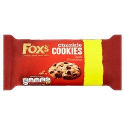 Fox's Chunkie Cookies Dark Chocolate 180g