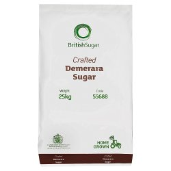 British Sugar Crafted Demerara Sugar 25kg