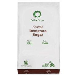 British Sugar Demerara Sugar 25kg
