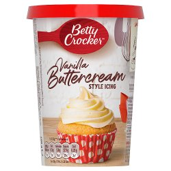 Betty Crocker Vanilla Buttercream Flavour Icing 400g
