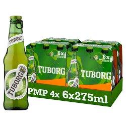 Tuborg Lager 6 x 275ml PMP £5.59