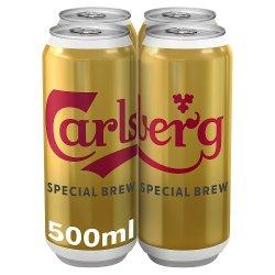 Carlsberg Special Brew Beer 4 x 500ml