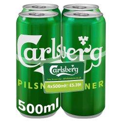 Carlsberg Pilsner 4 Pack PM £5.39