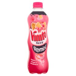 Vimto Fizzy Remix Raspberry, Orange & Passionfruit 12 x 500ml