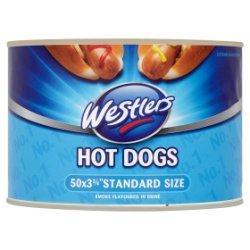 Westlers Hot Dogs Smoke Flavoured in Brine 1.7kg