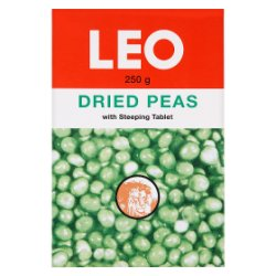 Leo Dried Peas with Steeping Tablet 250g